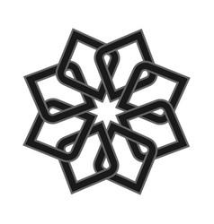 logo icon abstract symbol vector image