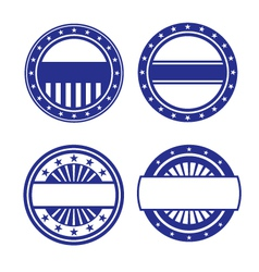Set of Circle Icons vector image vector image