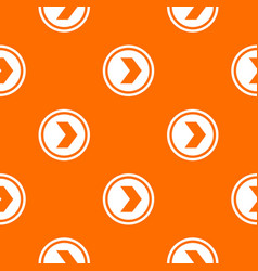 arrow to right in circle pattern seamless vector image