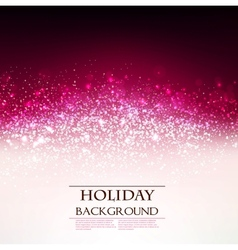 Elegant Holiday Red background with place for text vector image vector image