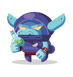 Fantasy rpg game character monsters and hero vector