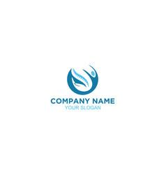 Help medical chiropractic logo design vector