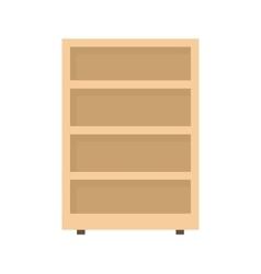 Shelves Cabinet vector