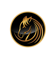 simple horse2 vector image