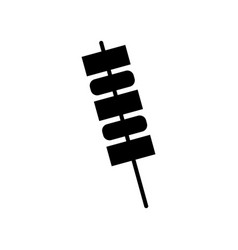 skewer icon vector image