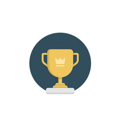 trophy icon sign symbol vector image