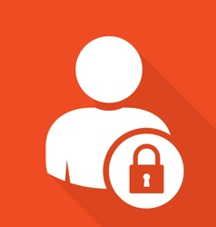 User log in icon - access and authentication vector image