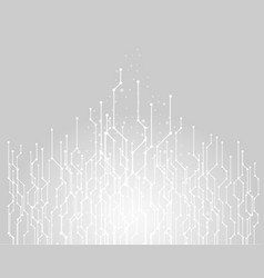abstract technology background graphic connecting vector image vector image