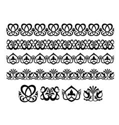 Retro ornaments and embellishments vector