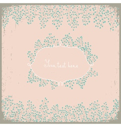 Elegant floral design Floral background for your vector image