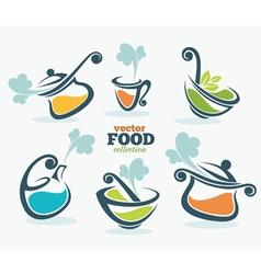 fresh food vector image vector image