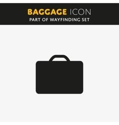 Baggage icon vector image vector image