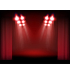 spots and stage vector image vector image