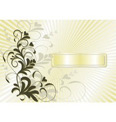 Vintage background abstract vector image
