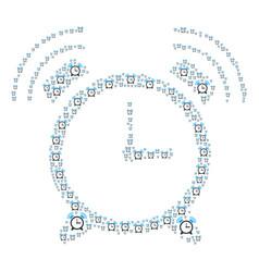 Buzzer icon shape vector
