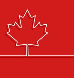 Canada thanksgiving card vector