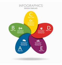 infographic template can vector image