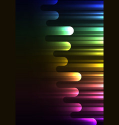rainbow speed melt overlap abstract background vector image