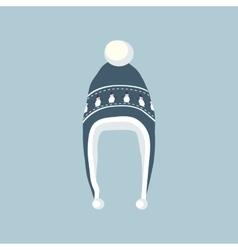 Set Winter Hat vector image
