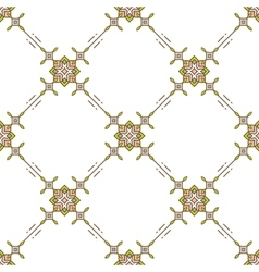 Thin line seamless pattern textile design vector