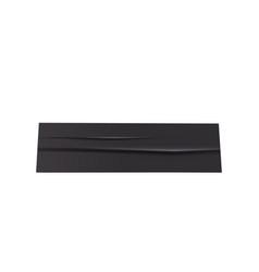 Black sticky tape vector