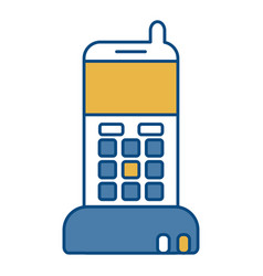 Cellphone icon image vector