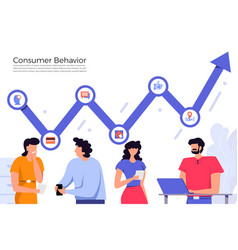 Consumer behavior vector