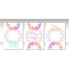ethnic mandala ornament colorful ornamental vector image