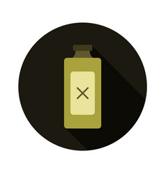 poison icon vector image