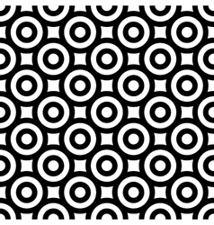 Polka dot geometric seamless pattern 7006 vector image