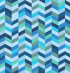 Seamless pattern of different figures vector image