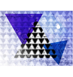 triangle 14 vector image