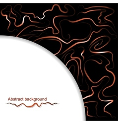Abstract background of wavy lines vector image