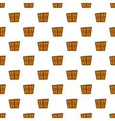 Double door pattern cartoon style vector