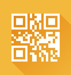 Qr code design vector image