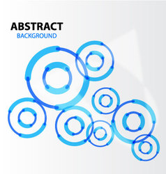 Abstract background Blue hitech vector