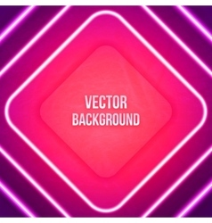 Abstract Geometric Background Glowing vector image