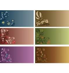 decor background vector image