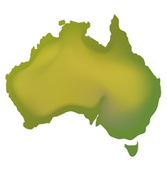 Geography map of Australia vector