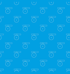Headlamp reflector pattern seamless blue vector