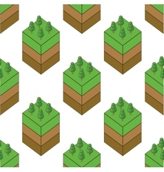 Piece of wood pattern vector