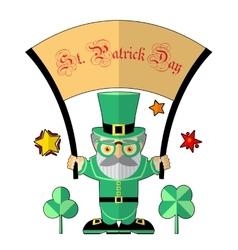 Saint Patrick vector image