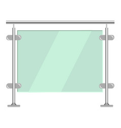 Bus stop icon cartoon style vector