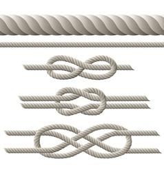 Rope set vector