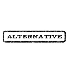 Alternative watermark stamp vector