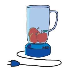 Cartoon blender vector