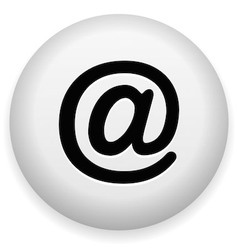 Email At Symbol vector
