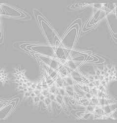 Gray and white seamless pattern vector