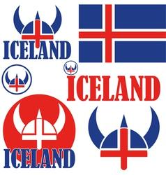 Iceland vector