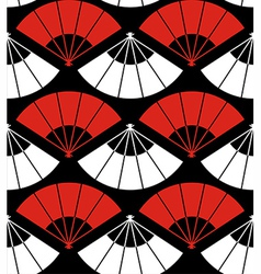 Japan fan abstract background vector image